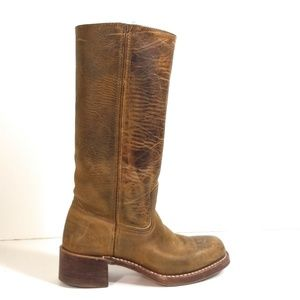 Frye Campus Woman Distressed Knee Riding Boot 6.5